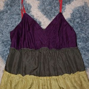 THE LIMITED multicolored camisole SIZE M